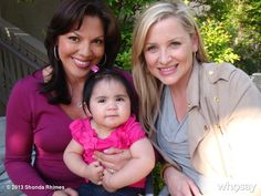 The photo of Callie, Arizona and Sofia that resides in the Torres/Robinson bedroom!