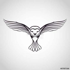 Vecteur : owl logo