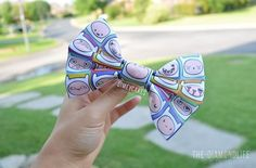 finn hair bow. ♡ i need this!