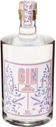 Gin von Taudtmann in der 0,5l Flasche mit 42% Vol. Alc.