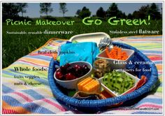 Add some healthy hand sanitizer & you're good to go! Organic living for outdoors