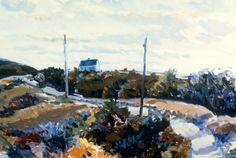 Philip Koch Paintings: Edward Hopper House Art Center Exhibit in Nyack, NY