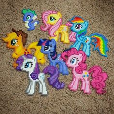 My Little Pony perler beads by epicquests4crafts