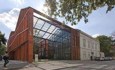 Malopolska Garden of Arts, do escritório Ingarden & Ewý Architects O novo centro cultural de Krakow, na Polônia