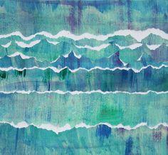 Arts visuels l'eau - la maternelle de Camille