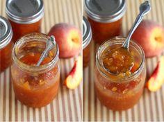 Peach Amaretto Jam | canning
