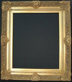 Colfax Ornate Gold Picture Frame