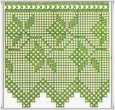 Kira scheme crochet: Album-lace bordure