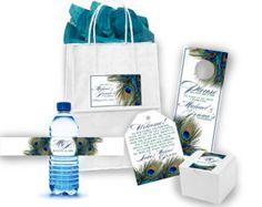 Hotel Wedding Welcome Guest Bag Set Bridal by GetHappyDesign