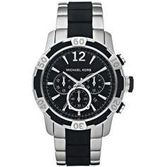 Relógio Michael Kors Chronograph Black Dial Mens Watch MK8199 #Relogios #MichaelKors
