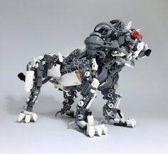 LEGO Mech Lion-01 by ToyForce 120 http://flic.kr/p/Rn1mSf