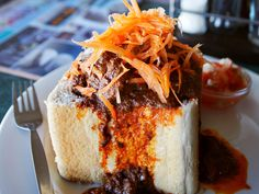 Bunny chow ~ Durban, South Africa