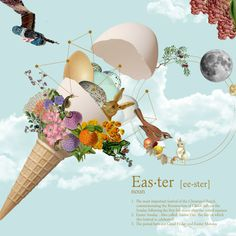Easter Dictionary on Behance