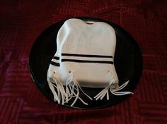 Tzitzis cake for an Upsherin/ Chalakeh.
