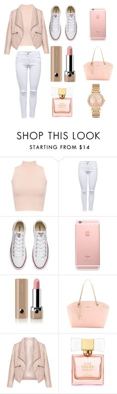 """shopping time"" by soph-133 ❤ liked on Polyvore featuring WearAll, Converse, Marc Jacobs, Furla, Zizzi, Kate Spade and Michael Kors"