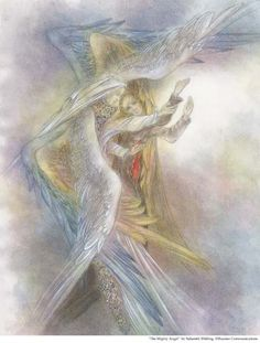the art of sulamith wulfing - the mighty angel