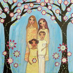 https://flic.kr/p/6z9ZUC   Custom Family Portrait Painting by Sascalia   My new Custom Family Portrait Painting . To find out more about me and my art please take a look at my profile.