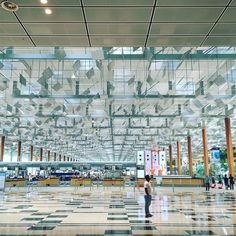 while i wait for my flight here's another shot from @changiairport taken when i returned to #singapore from #malaysia. the #architecture on this trip has inspired me in so many ways. i'm working with some new #installationart concepts not to mention the #video footage i shot that i have plans for. in a way my #travel time is my most productive time for ideas. travel is freeing. new experiences open my mind and help me see in new and exciting ways. taking these new perspectives back home and…