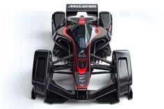 McLaren has revealed MP4-X a futuristic concept car for future seasons of F1