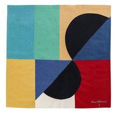 Sonia Delaunay (1885-1979) Noctune matinal - circa 1970 Tapis d''Aubusson en laine (Ateliers Pinton) Signée dans le motif, monogrammée PF (Pinton Felletin) en bas à gauche et numérotée 3/6