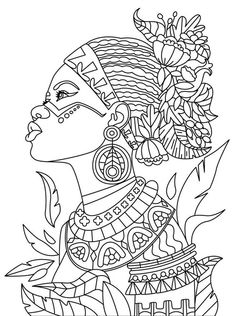 African | Colorish: coloring book app for adults mandala relax by GoodSoftTech