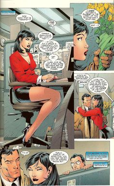 scans_daily   Batman:Hush - Batman vs. Superman  louis lane dating bruce wayne