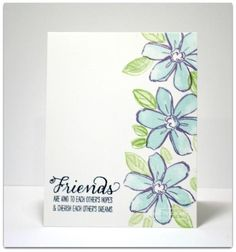 Friends by simplybeautiful - Cards and Paper Crafts at Splitcoaststampers