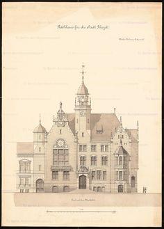 Titel   Rathaus in Rheydt | Guth, Hermann  Rathaus in Rheydt | Guth, Hermann