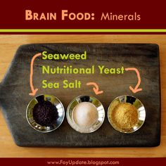 Brain Food: One Teaspoon of Minerals a Day