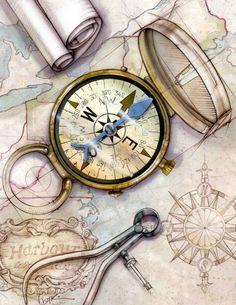Bonnie Hofkin Technical Drawing Compass