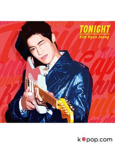 K2POP - KIM HYUN JOONG (SS501) TONIGHT (JACKET B)(SINGLE+DVD+POSTER)(FIRST PRESS LIMITED EDITION)(JAPAN VERSION)