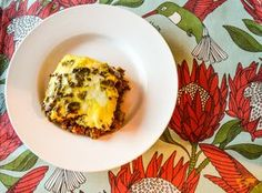 South African Bobotie with yellow rice and Mrs Balls Chutney recipe