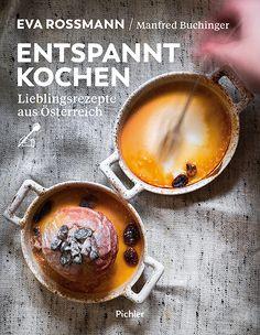 """""""Es gibt keine bessere Küche, nur eine gute."""" Entspannte österreichische Küche – das geht, da sind sich Geschichtenerzählerin Eva Rossmann und Küchenindividualist Manfred Buchinger einig, auch ganz ohne Heimattümelei, ohne Verherrlichung von Althergebrachtem, ohne Wettstreit über die ausgefallenste Zubereitung und das eine beste Rezept. Yotam Ottolenghi, Manfred, Pudding, Cooking, Desserts, Recipes, Food, Products, Italian Cuisine"""