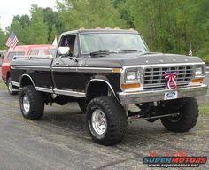 1979 Ford Truck, Old Ford Trucks, Ford 4x4, Diesel Trucks, Cool Trucks, Pickup Trucks, Lifted Trucks, Classic Ford Trucks, Classic Cars