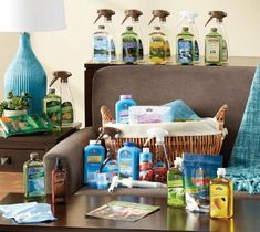 Melaleuca products  Love that everything is non toxic and safe for my family and home