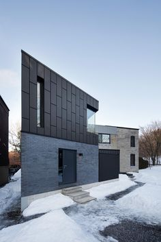 1bcdde52ba7 naturehumaine - Project - McCulloch Residence Brick Architecture,  Minimalist Architecture, Residential Architecture, Contemporary