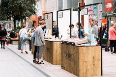 Pop-Up Market Stalls for Summer Sales