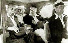 """""""Mustafa Kemal Atatürk, Manevi Kızı Ülkü ve Nuri Conker, 1936..."""""""
