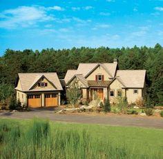Country farmhouse craftsman house plan