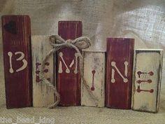 Primitive BeMine Shelf Sitter Blocks