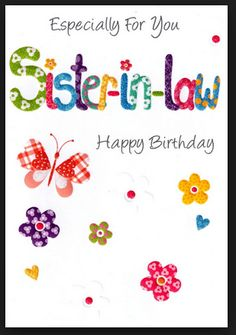 Happy birthday sister in law images free wallsmiga happy birthday to my sister in law 381874 cards m4hsunfo