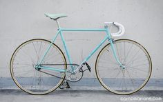 bianchi rekord 838 1980s steel celeste italian bicycle bici da corsa fixed gear fixie single speed clasic vintage corno marrone custom