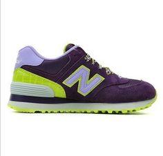 2013 nuevos NewBalance mujer retro zapatillas contadores de colores auténticos WL574BFP
