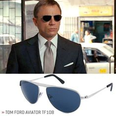 10 Awesome Sunglasses Inspired by Movies #tomfordmen #tom #ford #men #james #bond