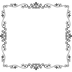 Decorative Vintage Style Frame ❤ liked on Polyvore featuring backgrounds, frame, borders and picture frame