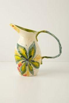 Aurelia Pitcher     i always love me some anthropologie!  love this design!  #FlowerShop