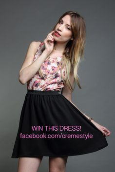 Discover this look wearing Skater Dress Creme Dresses - Floral print dress by Creme styled for Birthday in the Summer Skater Dress, Floral Prints, Facebook, Skirts, How To Wear, Dresses, Style, Fashion, Vestidos