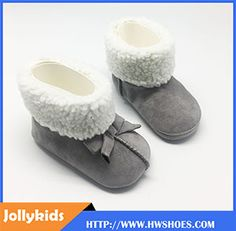 Soft Prewalkers Winter Baby Fur Boot Shoes
