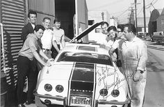 James Garner's AIM L88 Corvette Racing Team