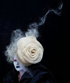 Hair rose by Ringo Tai of Malaysia #HotOnBeauty www.hotonbeauty.com